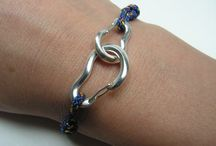 climbing jewelry / ##Climbing #jewelry made from sterling silver