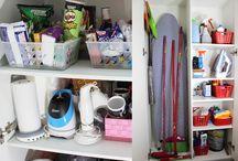 Organização da Casa  ♥ / Quer ideias de organização de lavanderia? Despensa? Cozinha? Armários? Nesta pasta você encontra várias sugestões.