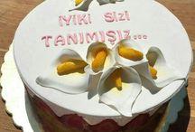 Pastacı okulu pastaları / Eğitimlerimizde öğrencilerimizle yapılan ürünler ve pastalar..