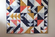 Triangle Quilts / Examples of quilts made from triangles.