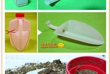 műanyag flakonból