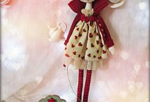 dolls and cloth dolls