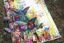 My Finnabair & Prima Marketing  inspired art...
