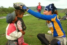Mongolia / A collection of pins from Saddle Skedaddle's cycling holiday in Mongolia