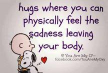 hugs & friends