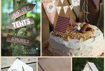 Campfire Birthday Party Ideas