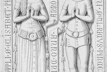 Średniowieczne nagrobki