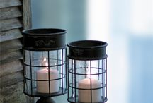 Set the Mood / Candle accessories, candle holders, and lanterns.
