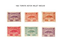 1922 TBMM SERİSİ POSTA PULLARI / PUL KOLLEKSİYONCULUĞU
