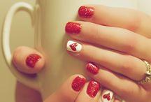 Valentines manicures