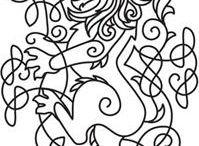 Patterns: lions, tigers and leopards - Minták: oroszlánok, tigrisek és leopárdok