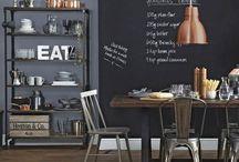 Industrial Bistro/Pub style home design