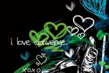 Converse <3 / by Jennifer M.