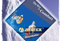 ACOTEX® Fabrics / ACOTEX® Fabrics are durably waterproof and windproof combined with optimized breathability. Different ACOTEX® Fabrics are developed and especially ideal for various activities like skiing, mountaineering or water-sports.