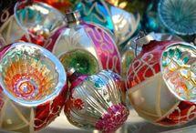 Vintage Christmas Ornaments / by Pamela Saunders