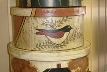 Hat Boxes / by Vicki Hill