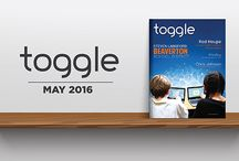 Toggle Tech Magazine / Toggle tells the stories of CTOs and CIOs, highlighting the vital role that technology plays in a successful business.