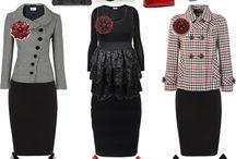 Modest dress style