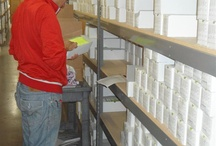Our Warehouse / Working to fill your orders!