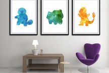 pokemon home decor
