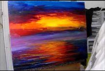 creando pinturas