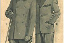 Zlaté střihy / Staré střihy z roku asi 1930