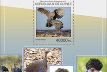 New stamps issue released by STAMPERIJA | No. 464 / GUINEA (GUINÉE) 01 10 2014 CODE: GU14401A-GU14412A