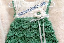 Baby crocheting