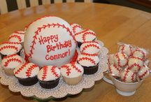 baseball cakes / by Shellie Dameron