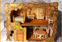 """Carrot Cottage / 1/4"""" scale Bunny inspired Limited Edition."""