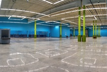 Commercial Polished Concrete / Polished concrete for schools, government buildings, and other commercial spaces.