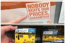 Home Depot savings/coupons