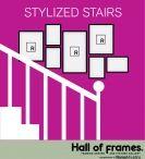 Bildercollage In Stairs