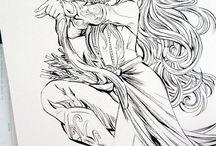 fantasy drawing