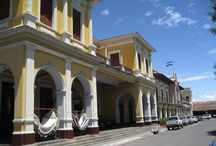 Learn Spanish Granada Nicaragua / Nicaragua colorful and nice people in Latin America, Granada the oldest colonial city, APC Spanish School located in stunning colonial building http://apcspanishschool.com