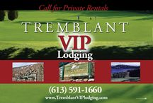 Tremblant Resort Lodging / Vacation Rental Properteis Mont Tremblant Quebec.  Great Places at Great Prices.