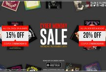 Cyber Monday / Cleopatra Records is kicking off the Holiday Season with a ‪#‎CyberMonday‬ Sale.  http://flyt.it/cleopatracybermonday2015  Starting Monday, November 30th at 12am – 11:59pm (Pacific), all store items will be on Sale. Why stress in long lines when you can get deals from the comfort of your own home! 15% off on All CDs, DVDs, EPs & Shirts! Coupon Code: cybermonday15  / by Cleopatra Records