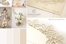 Invitations - Cream & Gold (Pistachio Designs) / Custom made wedding invitations