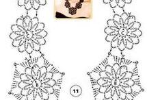 Hačkované náhrdelníky