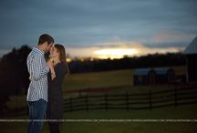 Sorella Farms Engagement Session / Sorella Farms in Evington VA is one of the most rustic barn wedding venues in Central Virginia. We love created beautiful off camera flash engagement pictures for our couples at Sorella Farms.