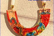 Χειροποίητα κολιέ - Handmade necklace