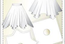 Střihy sukně