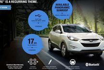 2015 Hyundai Tucson / As big as your weekend plans. As comfortable as your family room. With more passenger room than the Ford Escape,* getting there can be as rewarding as being there.