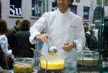 Showcooking with Carlo Cracco / More on our new website www.santambrogiomilano.it