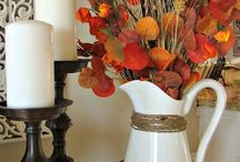 """Decoración de chimeneas """"otoño"""""""