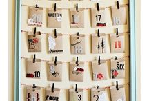 Advent Calender / Make your own unique Advent Calender