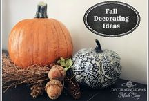 Fall decor / by Laura Balkovec Love
