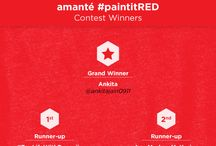 amanté contest winners on Facebook & Twitter