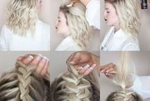 hair style, fashion, make-up
