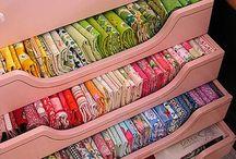 displaying fabrics